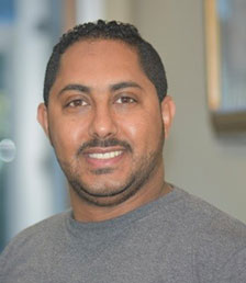 Mahmoud, One of our dental assistants